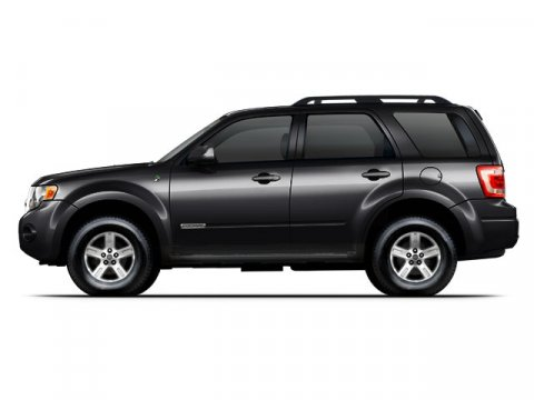 2008 Ford Escape Hybrid Black V4 23L Variable 34376 miles  Front Wheel Drive  Tires - Front A