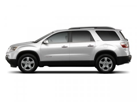 2008 GMC Acadia SLT2 Liquid Silver Metallic V6 36L Automatic 96185 miles  Keyless Entry  Powe