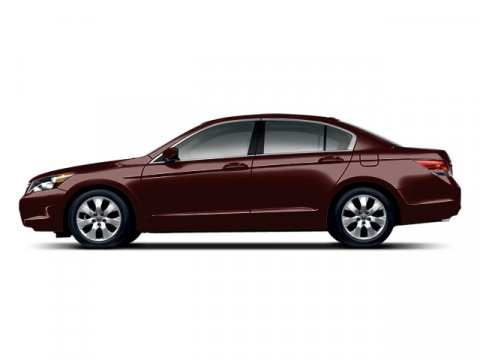 2008 Honda Accord Sdn EX-L Basque Red Pearl V4 24L Automatic 33478 miles  Traction Control  S