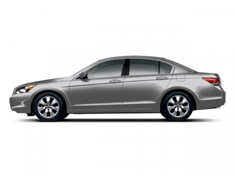 2008 Honda Accord Sdn EX-L Alabaster Silver Metallic V4 24L Automatic 121633 miles LEATHER MO