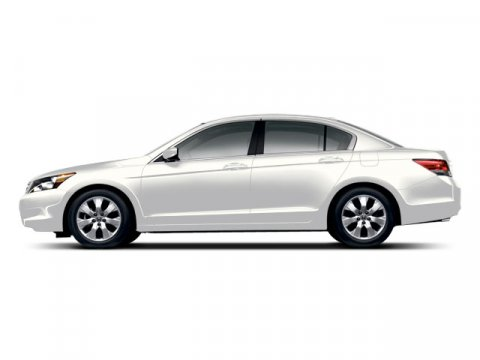 2008 Honda Accord Sdn EX-L White Diamond Pearl V6 35L Automatic 93671 miles  Traction Control