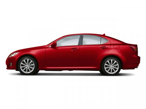 2008 Lexus IS 250 4DR SDN SPT AT Matador Red Mica V6 25L Automatic 118620 miles  Keyless Start
