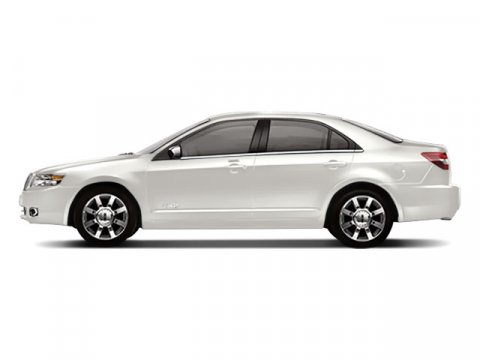 2008 Lincoln MKZ 4DR SDN FWD White Suede V6 35L Automatic 74939 miles  Traction Control  Fron