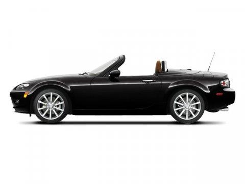 2008 Mazda MX-5 Miata BLACKBrown V4 20L Manual 58701 miles  Rear Wheel Drive  Tires - Front