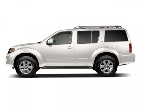 2008 Nissan Pathfinder LE White Frost PearlGraphite V6 40L Automatic 72125 miles New Arrival