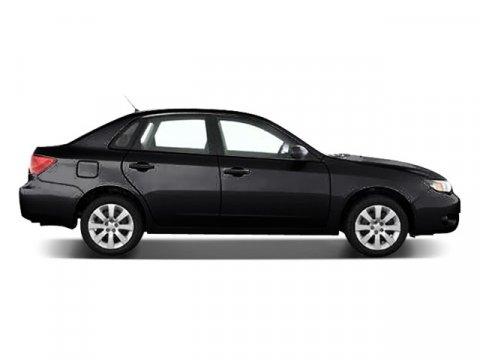 2008 Subaru Impreza Sedan i Obsidian Black Pearl V4 25L Manual 108208 miles  All Wheel Drive