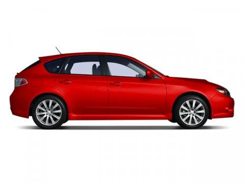 2008 Subaru Impreza Wagon WRX with Premium PkgONE OWNER Lightning RedBLACK V4 25L Automatic 6