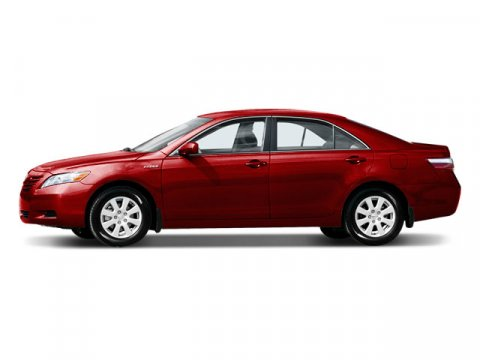 2008 Toyota Camry Hybrid Barcelona Red MetallicOAK V4 24L Variable 110363 miles  Traction Cont