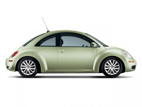 2008 Volkswagen New Beetle Coupe S Gecko Green Metallic V5 25L  58065 miles  Traction Control