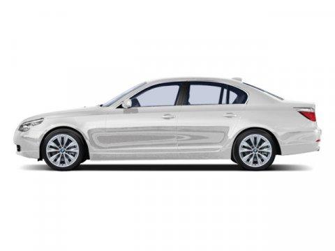 2009 BMW 5 Series 528i Alpine White V6 30L Automatic 114508 miles  Keyless Start  Rear Wheel
