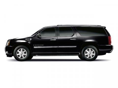 2009 Cadillac Escalade ESV 4DR SUV Black Raven V8 62L Automatic 85834 miles  All Wheel Drive