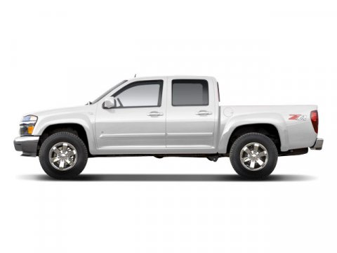 2009 Chevrolet Colorado Summit White V8 53 Automatic 84202 miles Colorado LT 4D Crew Cab 53