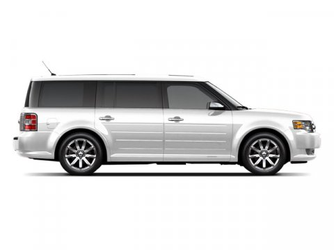 2009 Ford Flex SEL White Suede V6 35L Automatic 114960 miles CARFAX BUY BACK GUARANTEE LEATHE