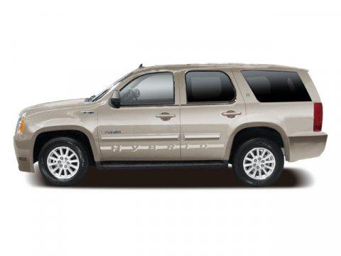 2009 GMC Yukon Hybrid Silver Birch Metallic V8 60L Automatic 75630 miles  LockingLimited Sli