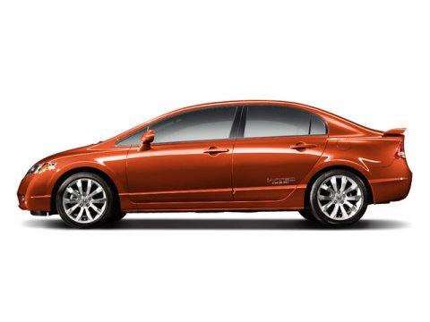 2009 Honda Civic Sdn Si Redline Orange PearlBlack V4 20L Manual 69861 miles New Arrival This