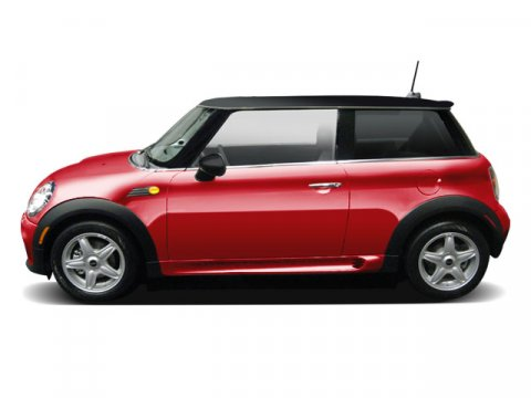 2009 MINI Cooper Hardtop Chili Red V4 16L  61087 miles  Front Wheel Drive  Keyless Start  P