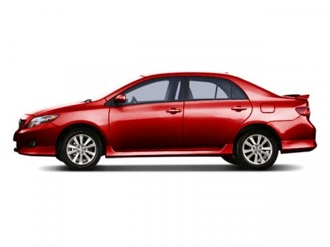 2009 Toyota Corolla C Barcelona Red Metallic V4 18L  129477 miles  Front Wheel Drive  Power