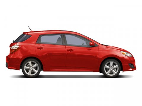 2009 Toyota Matrix Radiant RedGraphite V4 18L Automatic 73384 miles Carfax One Owner MP3 CD P
