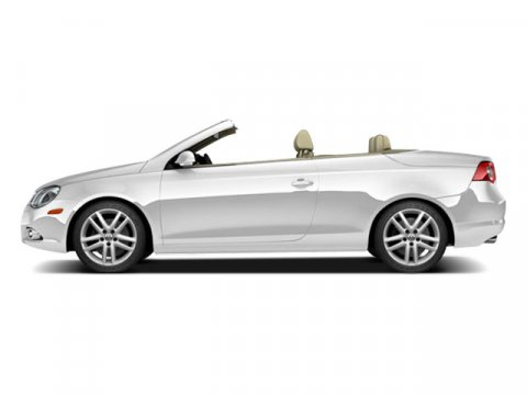 2009 Volkswagen Eos Komfort Candy White V4 20L Automatic 52901 miles Turbocharged Front Whee