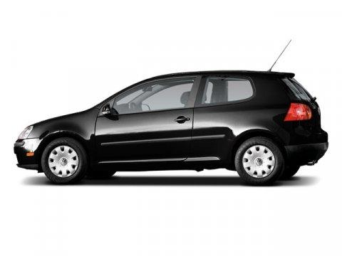 2009 Volkswagen Rabbit S BlackBLACK V5 25L Manual 62922 miles  Front Wheel Drive  Power Steer