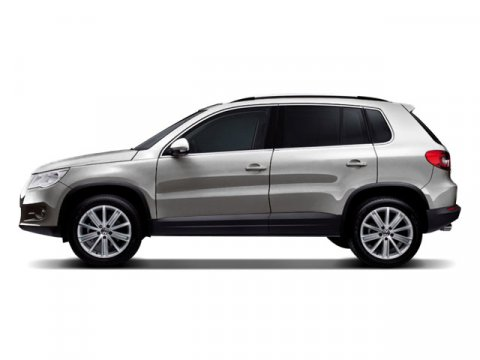 2009 Volkswagen Tiguan SE with Leather GrayBlack V4 20L Automatic 61160 miles SPORT LOW MILE