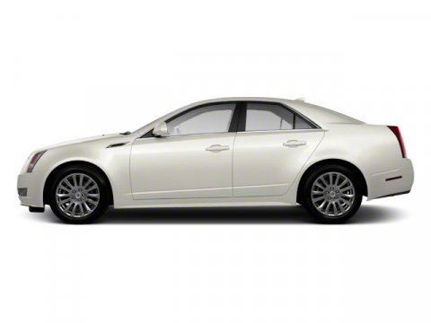 2010 Cadillac CTS Sedan Luxury White Diamond Tricoat V6 30L Automatic 61820 miles Luxury Level
