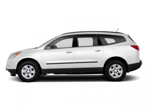 2010 Chevrolet Traverse LT w1LT White V6 36L Automatic 61984 miles  All Wheel Drive  Power