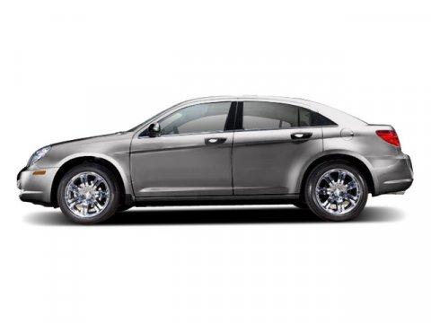 2010 Chrysler Sebring Touring Silver Steel MetallicDark slate gray V4 24L Automatic 36592 miles