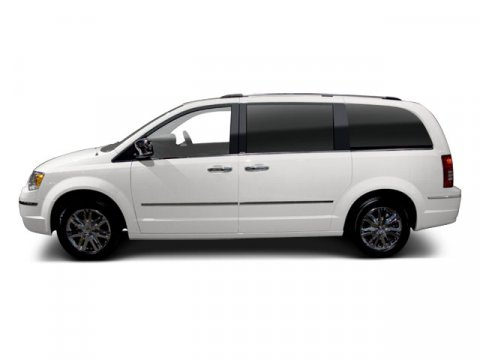 2010 Chrysler Town  Country Touring Stone WhiteWHITE V6 38L Automatic 96118 miles  Front Whe