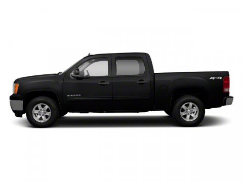 2010 GMC Sierra 1500 SLT Onyx Black V8 53L Automatic 86365 miles ONE OWNER 4X4 LEATHER BLUE