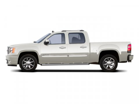 2010 GMC Sierra 1500 Denali White Diamond Tricoat V8 62l Automatic 65105 miles  Tow Hitch  L