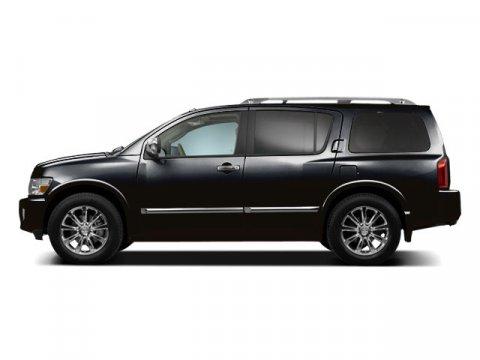2010 Infiniti QX56 Liquid Onyx Metallic V8 56L Automatic 49243 miles  Rear Wheel Drive  Tow
