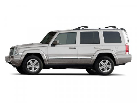 2010 Jeep Commander Sport Bright Silver Metallic V6 37L Automatic 85893 miles  Four Wheel Driv