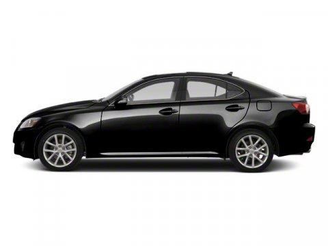2010 Lexus IS 250 4DR SPT SDN RWD A Obsidian V6 25L Automatic 95385 miles  Keyless Start  Rea
