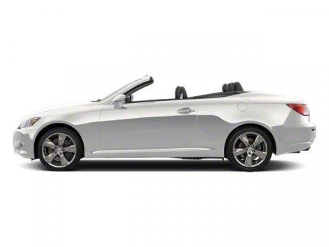 2010 Lexus IS 350C 2DR CONV Starfire Pearl V6 35L Automatic 25847 miles  Keyless Start  Rear