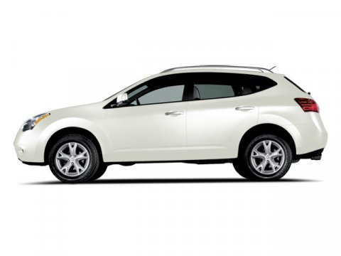 2010 Nissan Rogue S Phantom White Pearl V4 25L Variable 63536 miles  Front Wheel Drive  Tow H