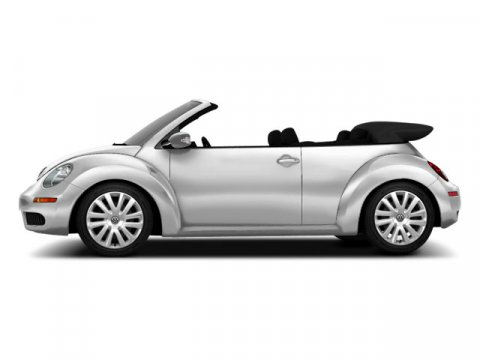 2010 Volkswagen New Beetle Convertible L White V5 25L Automatic 56310 miles  Traction Control