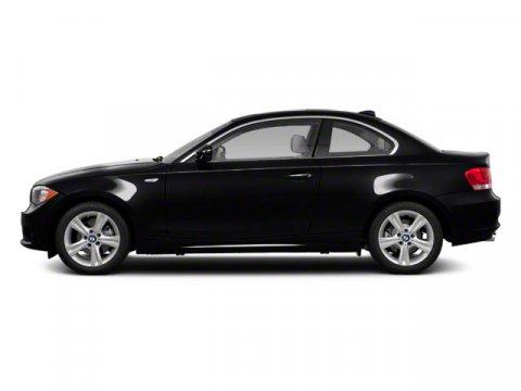 2011 BMW 1 Series 135i Jet Black V6 30L  54680 miles  Turbocharged  Power Steering  Rear Wh