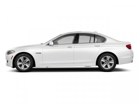 2011 BMW 5 Series 528i Alpine White V6 30L Automatic 46477 miles  Keyless Start  LockingLim
