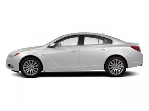 2011 Buick Regal CXL Turbo TO4 Summit WhiteEbony V4 20L Automatic 53334 miles  EBONY LEATHER-
