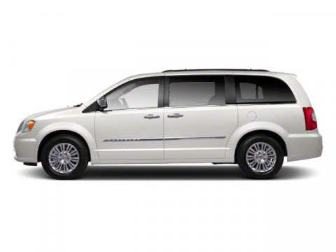 2011 Chrysler Town  Country Touring Stone White V6 36L Automatic 53220 miles  Front Wheel Dri