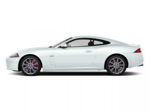 2011 Jaguar XK 2DR CPE Polaris White V8 50L Automatic 18267 miles  Rear Wheel Drive  Power St