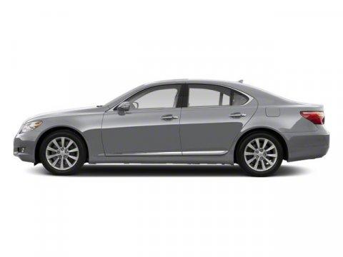 2011 Lexus LS 460 4DR SDN RWD Mercury Metallic V8 46L Automatic 31801 miles  Rear Wheel Drive