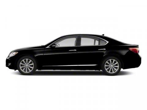 2011 Lexus LS 460 4DR SDN RWD Obsidian V8 46L Automatic 58654 miles  Rear Wheel Drive  Power