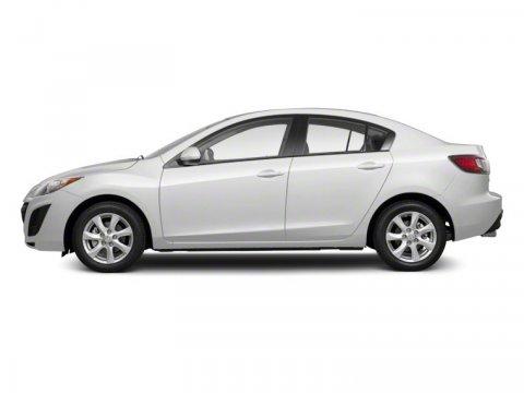 2011 Mazda Mazda3 i Sport Crystal White Pearl Mica V4 20L  99744 miles MP3 Player 33 MPG Hig