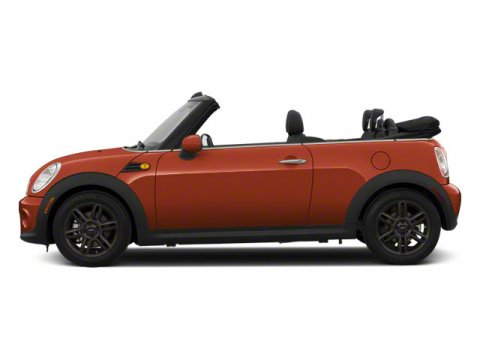 2011 MINI Cooper Convertible S 6-SPEED MANUALONE OWNER Spice Orange MetallicPolar Beige V4 16L