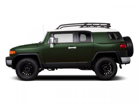 2011 Toyota FJ Cruiser Army GreenBLACK V6 40L Manual 86061 miles  LockingLimited Slip Differe