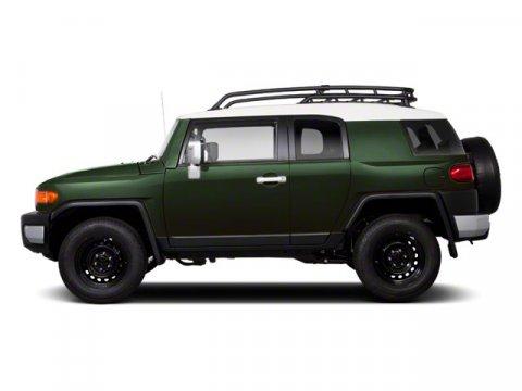 2011 Toyota FJ Cruiser Army GreenBLACK V6 40L Manual 86061 miles  LockingLimited Slip Differe