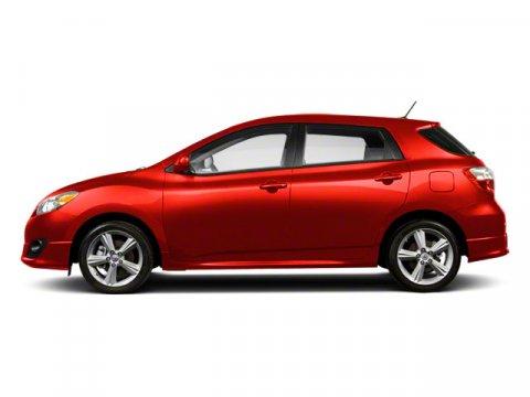 2011 Toyota Matrix S Radiant Red V4 24L Automatic 23317 miles  All Wheel Drive  Power Steeri