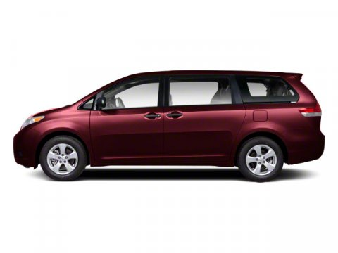 2011 Toyota Sienna LE CDMP3 Salsa Red PearlBisque V6 35L Automatic 51726 miles Carfax One Own